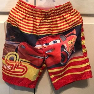 Cars Swimming Trunks 4T